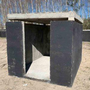 betónový prefabrikovný sklep